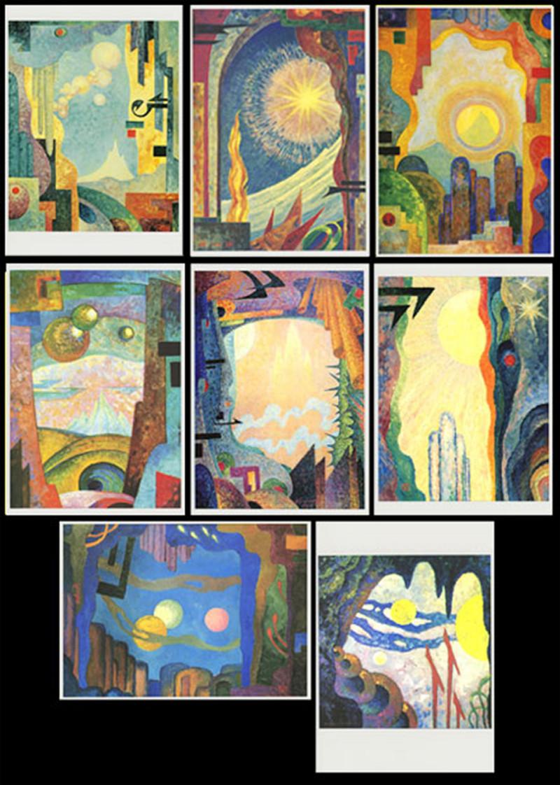 8 Postkarten Geistliche Bilder